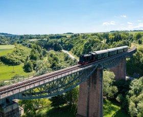 Foto von Sauschwänzlebahn